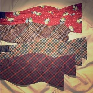 Other - 4 bow ties - self tie